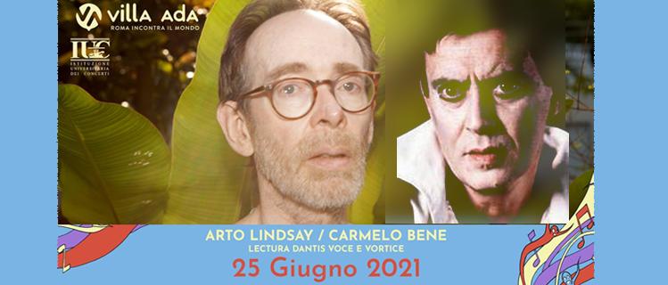 Villa Ada - Arto Lindsay/Carmelo Bene - Lectura Dantis